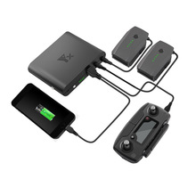 Outdoor Portable Mobile Power Charger Battery Charging Bank USB port Remote Controller Charger For DJI Mavic pro Drone