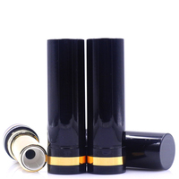 10 20 50 80pcs PP 12 1mm DIY Round Black Lipstick Tubes Lip Balm Containers Empty