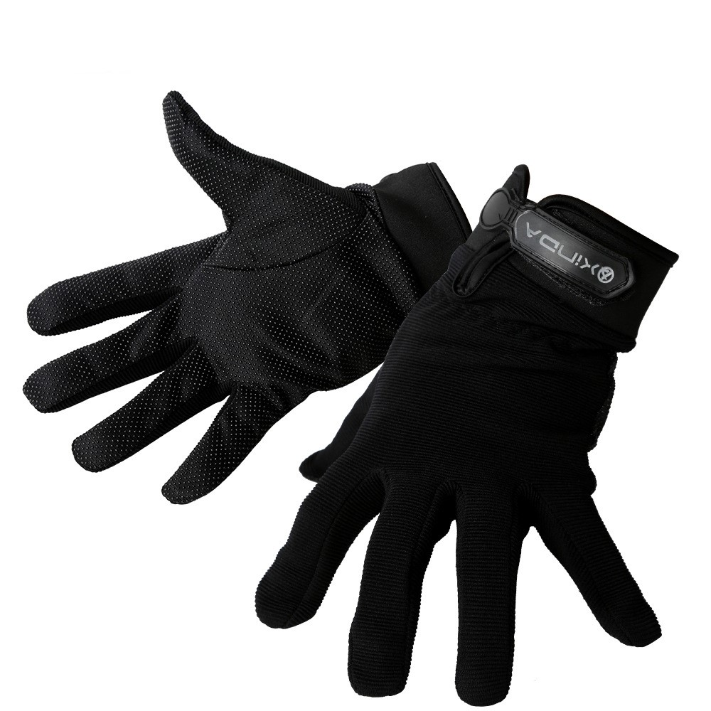 Protection solaire antidérapante extérieure résistant à l'usure escalade alpinisme gants antidérapants gants tactiques d'équitation de doigt