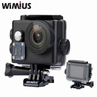 Wimius Q6 4K WIFI Action Camera Mini Sport Helmet Cam Full HD 1080P 60FPS 16 MP
