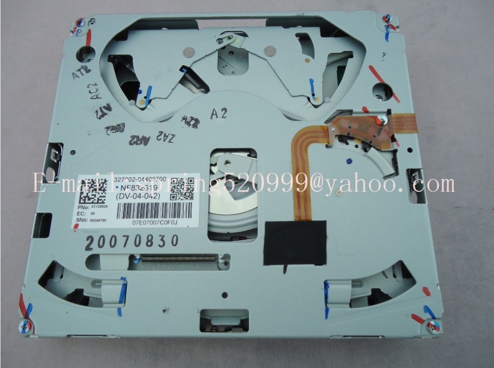 US $36 1 5% OFF DV 04 130E DV 04 130D for Chrysler NTG4 REZ REN MYGIG HDD  Navigation radio Audio chrysler 200 video-in Car CD Player from Automobiles