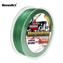 100M 300M braided wire 4 strands super Japan Multifilament PE Braid Fishing Line 0.1-0.55mm freshwater and saltwater fishing 4x