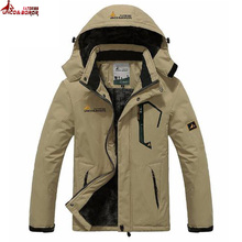 UNCO&BOROR winter jackets men women`s outwear fleece thick warm cotton down coat waterproof windproof parka men brand clothing(China)