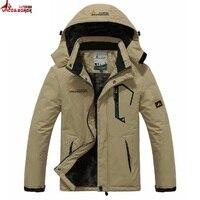 UNCO&BOROR winter jacket men women`s outwear fleece thick warm cotton down coat waterproof windproof parka men brand clothing