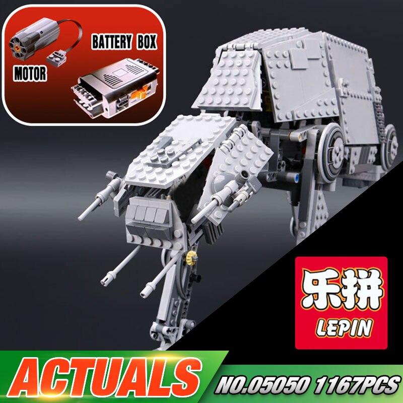 NEW LEPIN 05050 Star Series War 1137pcs AT Model AT the font b robot b font