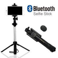 Hot style selfie stick generation tripod integrated bluetooth selfie stick phone wireless selfie artifact