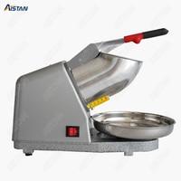 HD109 Electric Ice Crusher Smoothie Shaver Slush Ice Block Breaking grinder Machine 65KG/H 220 240V Silver