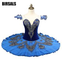 Classical Pancake ballet tutu Professional Princess Florina Blue Bird Ballet Tutu NutrackerBT8992A