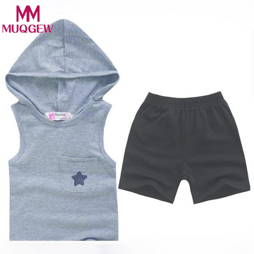 Summer Kids Clothes Sets Tops+Pants Five-star Cotton Toddler Baby Boys Tracksuit Outfits All for Kids Clothing and Accessories jumping meters boys winter clothes children clothing sets animal tops pants 100% cotton 3017 brand kids tracksuit boys outfits