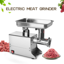 цена Multi-function Commercial Meat Grinder Stainless Steel Electric Meat Mincer Sausage Onion Spicy Spice Cutting Plate в интернет-магазинах