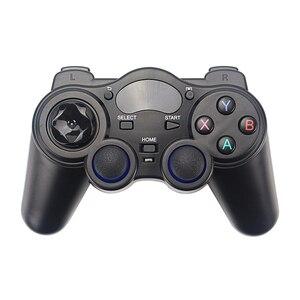 Image 2 - 2.4G Wireless Gamepads Joystick Game Controller Joypad for PS3 PC Android Windows Raspberry Pi 4 Retroflag NESPi Retropie