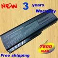 7800mAh PA3634U-1BRS PA3634 battery for Toshiba M300 U400 laptops+free shipping