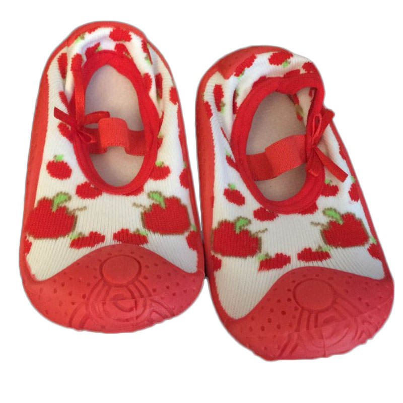 Baby shoes Newborn spring Infant Socks Hot sale Anti Slip Baby Socks with Rubber Soles W ...