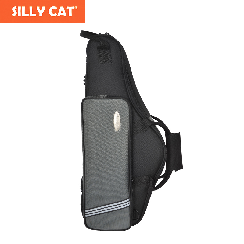 Water-proof  Sponge Shockproof Cozy Soft Lightweight Alto Sax Case Alto Sax Backpack Alto Saxophone Bag new luxury professional portable durable tenor saxophone bag b sax gig case waterproof luxury backpack soft padded strap thicker