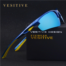 Brand design New Fashion Sports Sunglasses Men Polarized Black Driving Shade Eyewear Gafas Oculos De Sol Male Sun glasses V8512