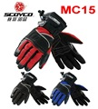 Scoyco motorcycle riding gloves winter weatherization waterproof motorcycle gloves MC15 drop resistance windproof protection