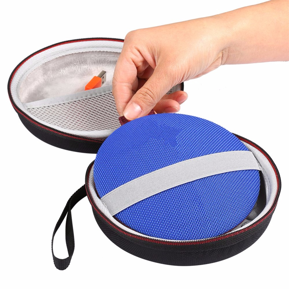 Travel Wireless Bluetooth Speakers Cases With Mesh Pocket For Logitech UE ROLL 2/UE ROL For Charger Cable Cycling accessories