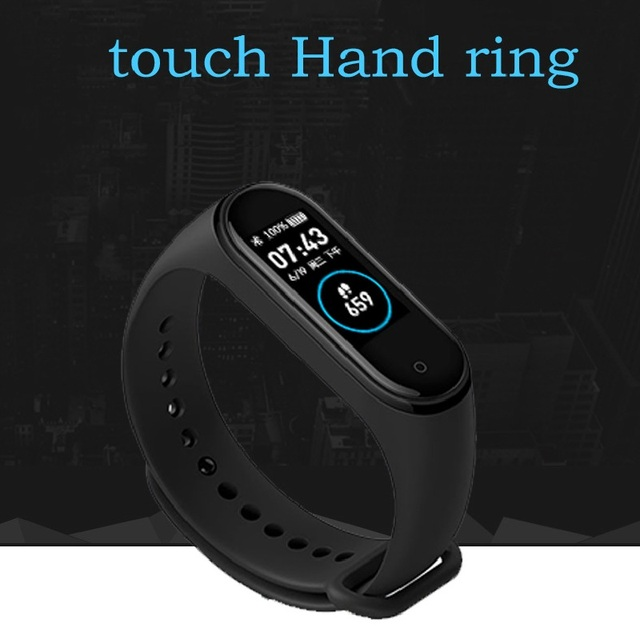 M4 Smart Watch Men Wristband Fitness Bracelet IP67 Waterproof Sport Watch Blood Pressure Activity Tracker Reloj Inteligente