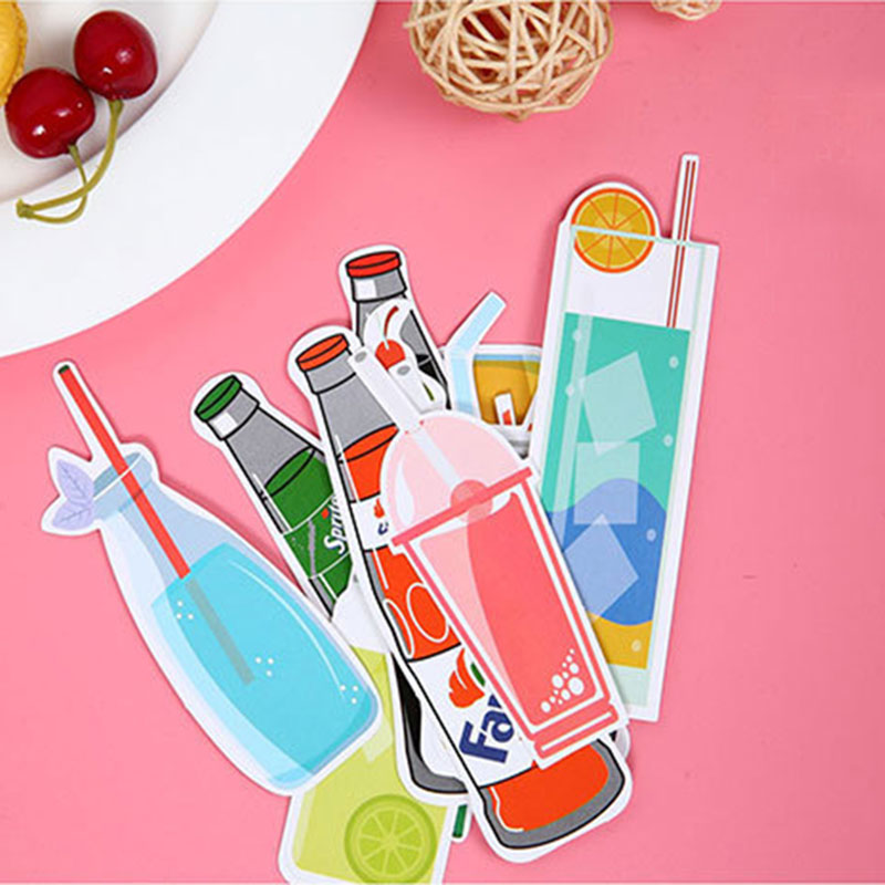 30pcs/box Cute Kawaii candy Bookmarks Paper Clip For Book Korean Funny Gift Office School Supply Stationery Free Shipping