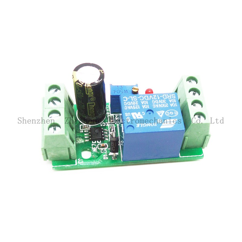 DC 12V Delay Relay Shield NE555 Timer Switch Adjustable Module 0-10 Second 1pc multifunction self lock relay dc 12v plc cycle timer module delay time relay