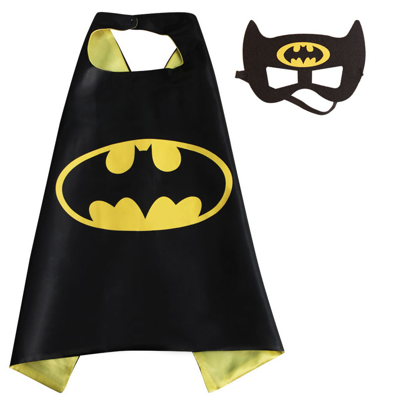 Kids Superhero Capes & Mask Costume Capes For Kids Spiderman