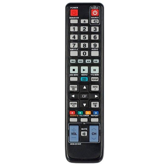 חדש שלט רחוק AK59 00104R suitbale עבור samsung טלוויזיה Blu ray DVD דיסק נגן BD C5500 BD C7500 BD C6900 BD C5300 BD 5500C