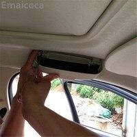 Car Styling Glasses Box Case Storage Box For Nissan Qashqai Teana X Trail Livina Sylphy Tiida