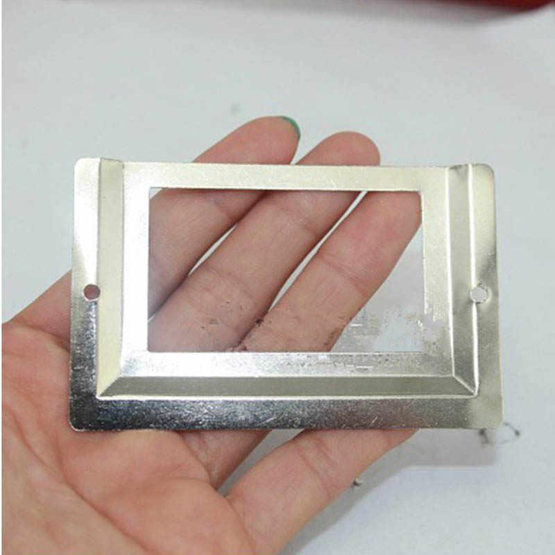 Горячая почта для офиса и библиотеки Рамочка для ящиков металлическая метка держатель, серебряный тон, 10 штук