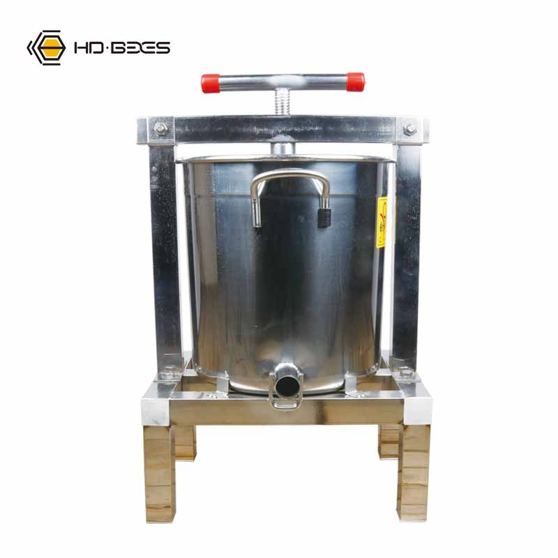 Bee Beekeeping Equipment and Tools Honey Wax Press Machine Bees Apicultura Stainless Steel With four Legs