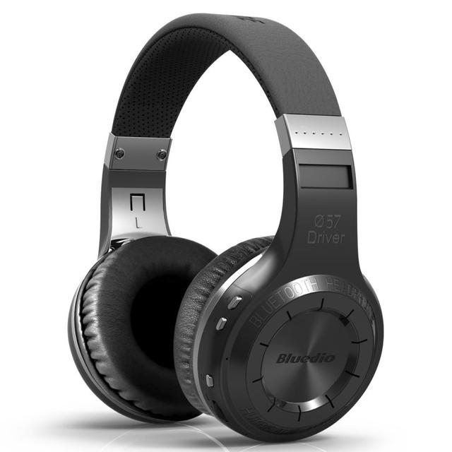 Nueva Bluedio H + Mejor Bluetooth 4.1 Auriculares Inalámbricos Auriculares Estéreo Portátil Auriculares Micrófono Incorporado Micro-sd/Radio FM