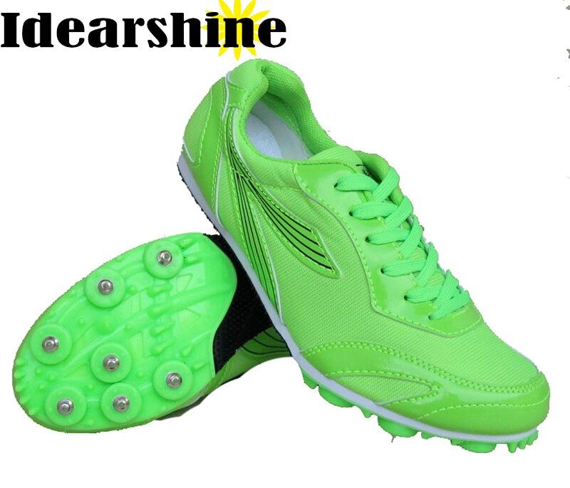 a822a0af94 Homens Picos de Pista e Campo Profissional Adolescente Competição Esportiva  Running Shoes 100 m Sprint Picos De Treinamento Senhoras EUR 35 ~ 46  5258  em ...