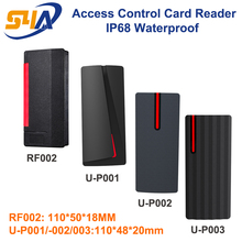 IP68 Waterproof Access Control RFID Card Reader support Wiegand 26