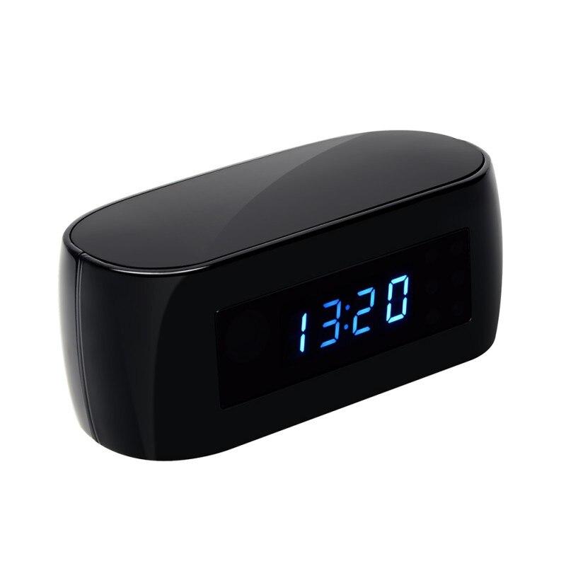 Configuração de Alarme HD 1080P Filmadora Night Vision Sensor de Movimento Filmadora Relógio de Mesa Mini Câmera IP WiFi Cam Mais Produtos