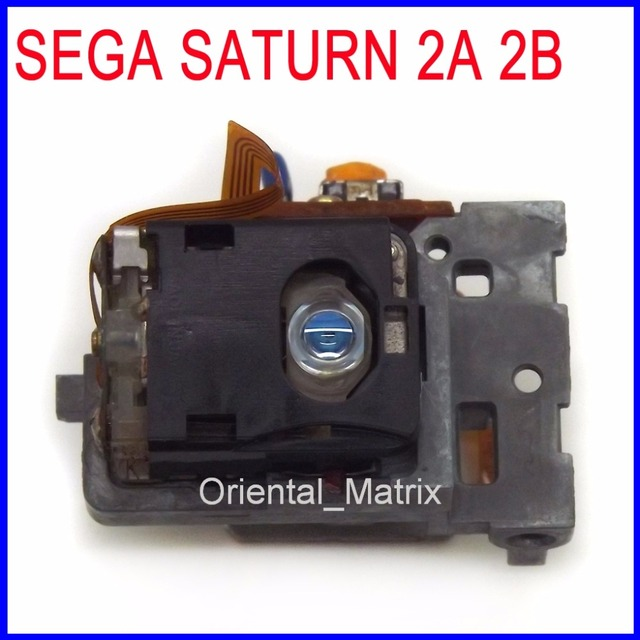 Original E Novo Lens Laser Substituição Para SEGA SATURN 2A 2B Laser Lens Lasereinheit Optical Pick up