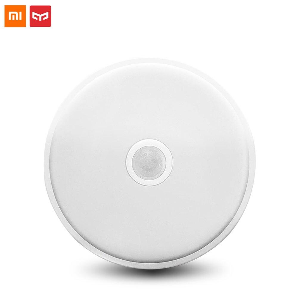 Original Xiaomi Yeelight Sensor de movimiento del cuerpo humano + Luz de inducción lámpara de techo Mini pasillo luces de pared Anti polvo de Mosquitos-in control remoto inteligente from Productos electrónicos    1