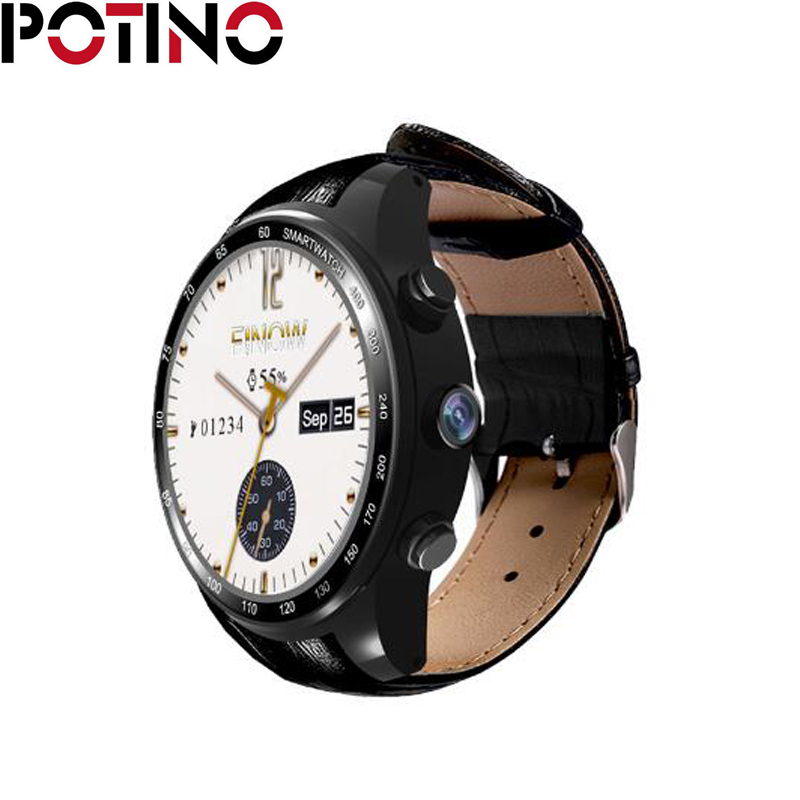 POTINO Q7 Unlocked  Smart Watch Phone  Android 5.1 0.3MP Camera support 3G Wifi Bluetooth 4.0 MTK6572 GPS Pedometer for Android potino gw11 3g watch bluetooth 1 3 inch ultra thin screen smart watch phone support nano sim card wifi gps map pedometer