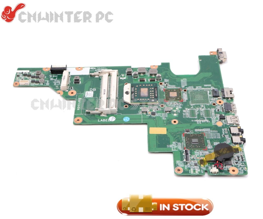 NOKOTION 646982-001 Pour HP Compaq 435 635 CQ43 Ordinateur Portable Carte Mère Socket S1 HD4200 DDR3 Livraison Processeur