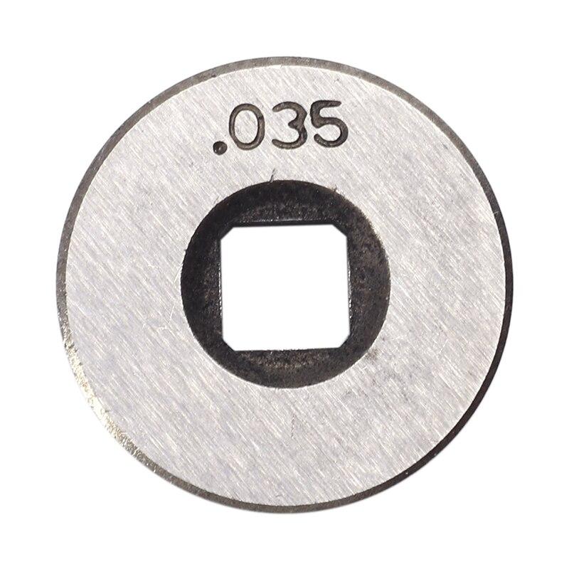 Mig Welder Wire Feed Drive Roller Roll Wheel Kit 25Mm Diameter 0.8-0.9Mm/.030 Inch-.035 Inch