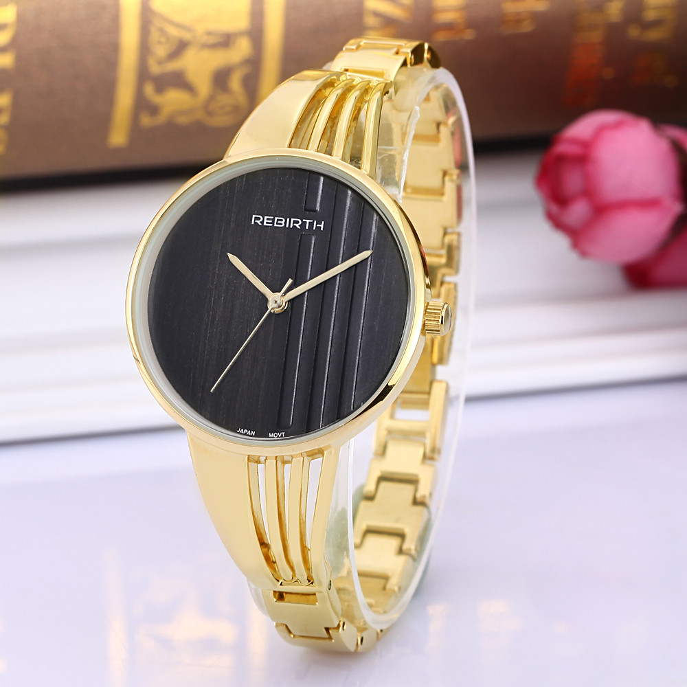 Top Luxury Brand REBIRTH Relojes mujer Wristwatch Bracelet Quartz Watch Woman Ladies Watches Clock Female Dress Relogio Feminino