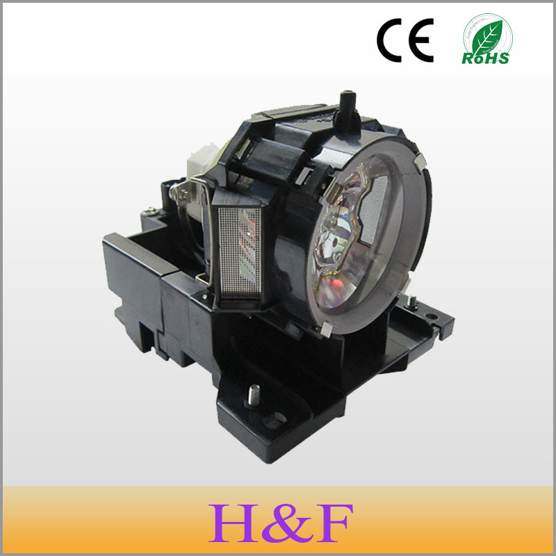 Free Shipping DT00873 Compatible Replacement Projector Lamp With Housing Uhp Lamp For Hitachi Projetor Luz Lambasi free shipping original projector lamp for hitachi dt00341 with housing