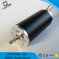 42ZYT04B 1.78A~5.85A 85W 12v 24v 48v high torque and low noise Permanent Magnet Brush DC Electric Motor with 100mNm 4700rpm
