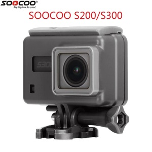 Image 1 - 2018 SOOCOO S200 S300 Original Action Camera Waterproof Case Support touch screen Diving Housing Waterproof Box Accessories