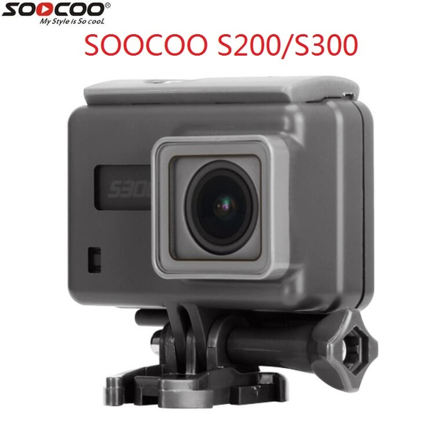 2018 SOOCOO S200 S300 Original Action Camera Waterproof Case Support touch screen Diving Housing Waterproof Box Accessories