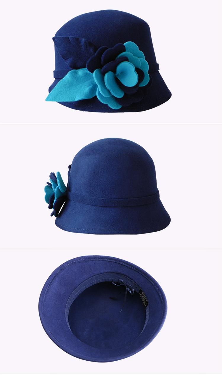 4_woman wool felt hat
