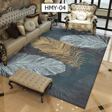Bedroom Living Room Nordic Abstract Flower Art Carpet For Anti-Slip Large Rug Floor Mat Fashion Kitchen Carpets Area Rugs
