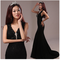 lace party beading beach Homecoming Prom Gown Ball Formal dresses MJ625 Abendkleider long dress