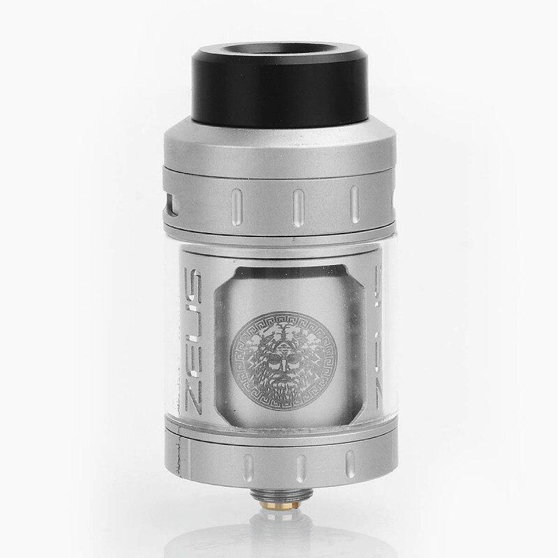 D'origine GeekVape Zeus RTA 4 ml 25mm Reconstructible Réservoir Atomiseur Single Coil Fuite-Preuve Flux D'air Réglable