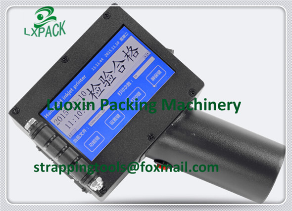 LX-PACK El precio de fábrica más bajo La más alta calidad Impresora de inyección de tinta manual LXP Soluciones de codificación para bebidas Cable de alambre y extrusiones
