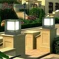 Estilo Europeu moderno E Minimalista Luzes Cargo Da Lâmpada Luzes de Iluminação Do Gramado De Alumínio Ao Ar Livre À Prova D' Água Ao Ar Livre Villa Jardim Luz