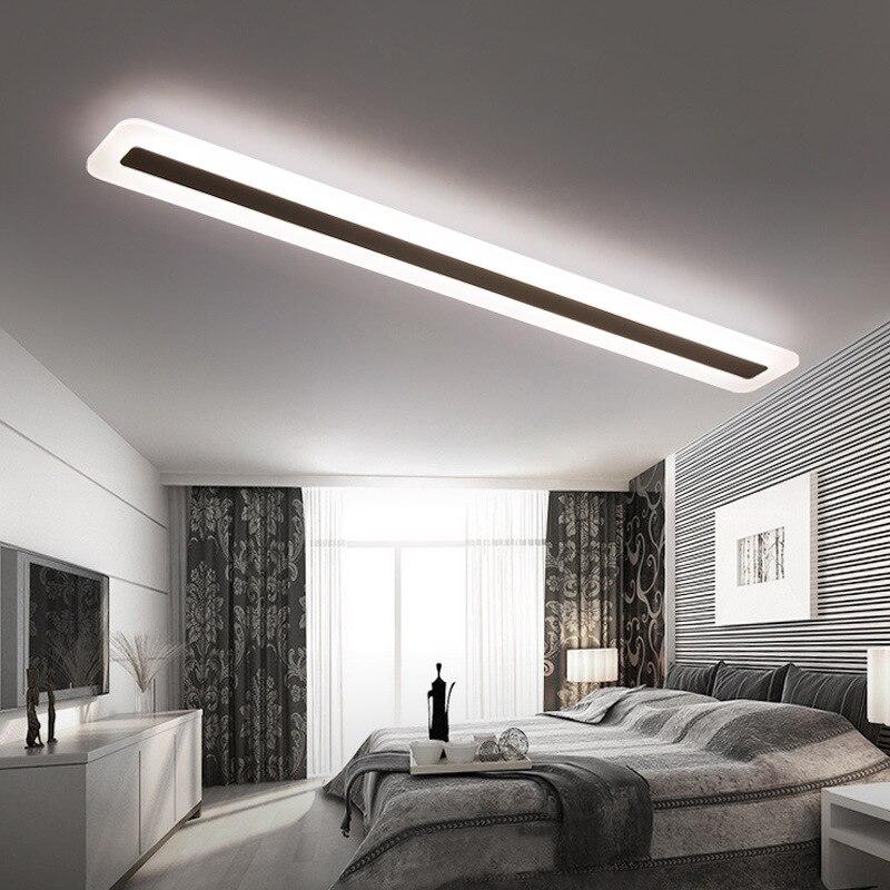 Image 4 - 220V Simple and modern LED ceiling lamp Minimalism ceiling lights  Creative living room corridor hall LED lamp-in Ceiling Lights from Lights & Lighting